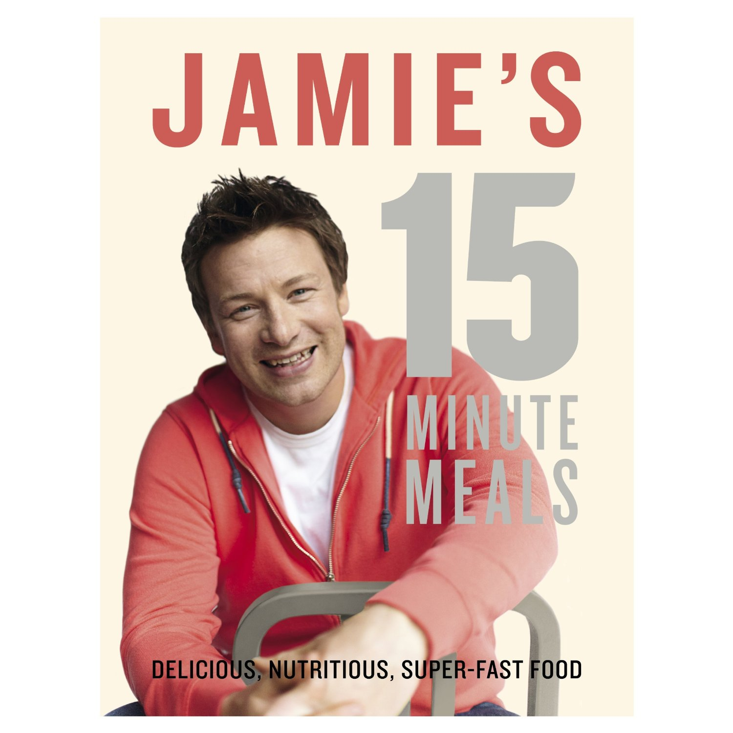 Jamie's 15 Minute Meals - book cover image