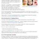 FDA Article - Do Babies Need Teething Medicine? NO.