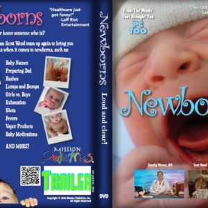 DVD Cover Image of Crying Newborn Baby